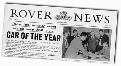 Car of the Year Rover News