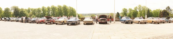 Rover P6 Club National Rally 2014