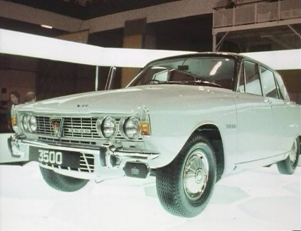 Rover P6 Re-Launch