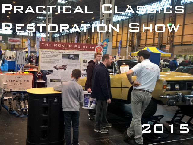 RP6C at Practical Classics Restoration Show 2015