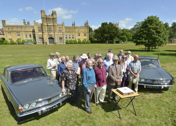 Designers of the Rover P6 Jubilee Rally
