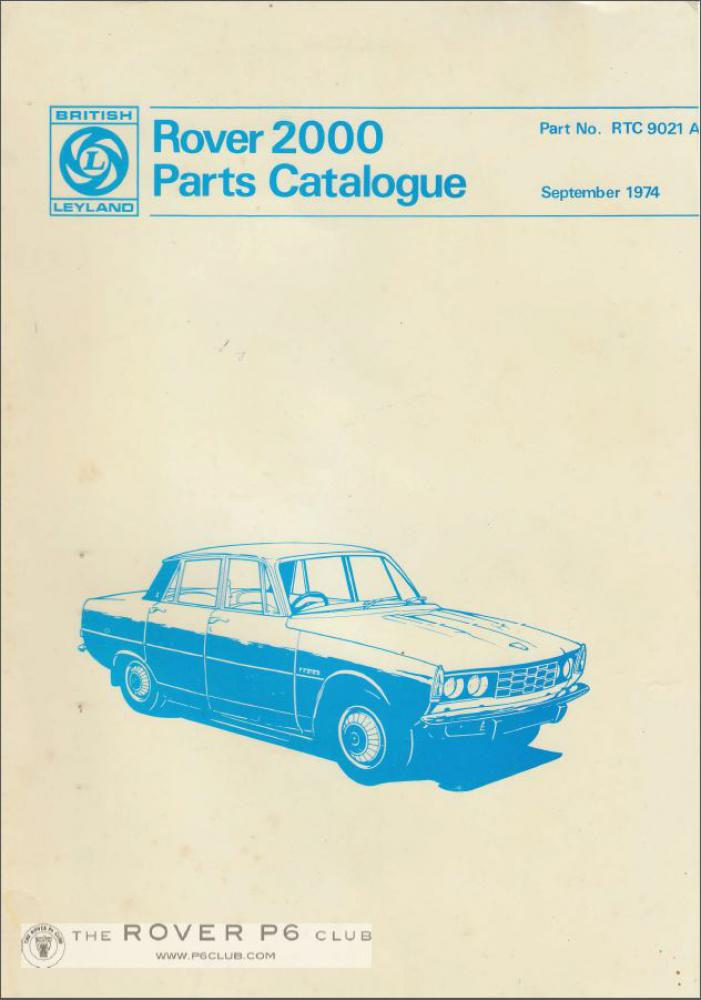 4 Cylinder Workshop Manuals On Cd The Rover P6 Club