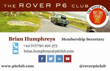 Brian Humphreys contact card