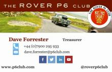 Dave Forrester contact card